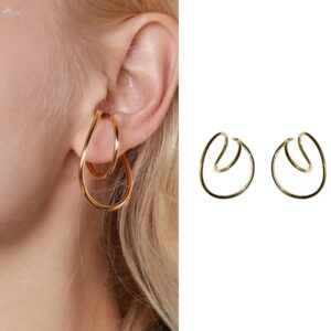 Hooping Ear Cuff